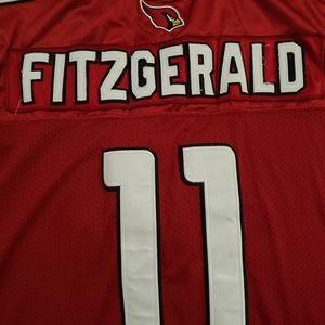 Reebok Larry Fitzgerald onfield jersey